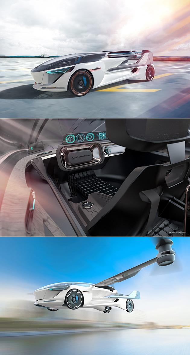 AeroMobil 5.0 VTOL Flying Car