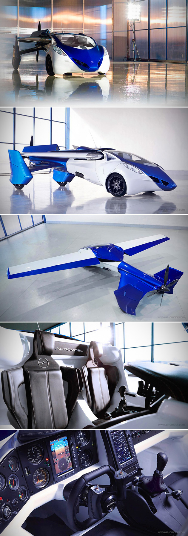 AeroMobil Flying Car 2015 2016