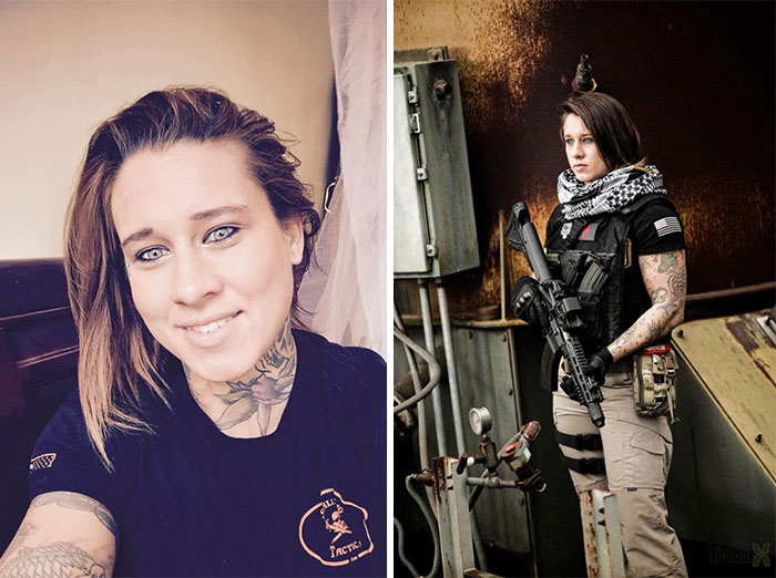 Afghan Vet Kinessa Johnson Poachers