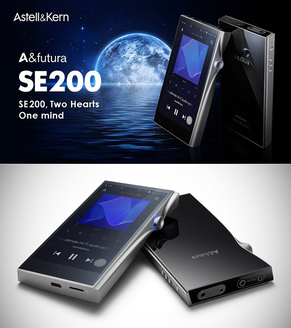 A Futura SE200 Audio Music Player