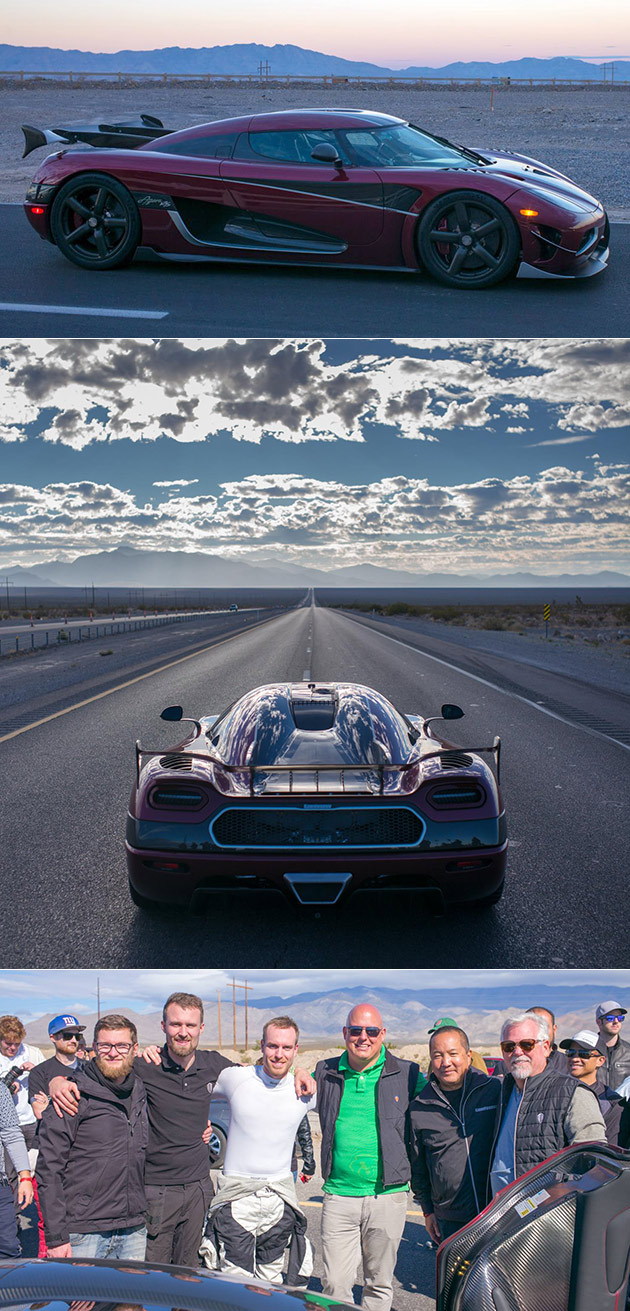 Agera R Speed Record