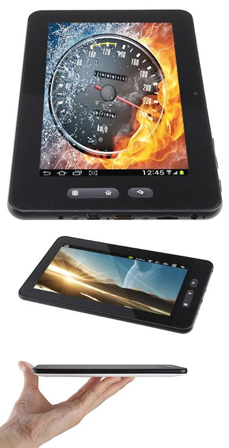 "iPad Mini-Sized AGPtek 7"" Android 4.0 Dual-Core Tablet ..."