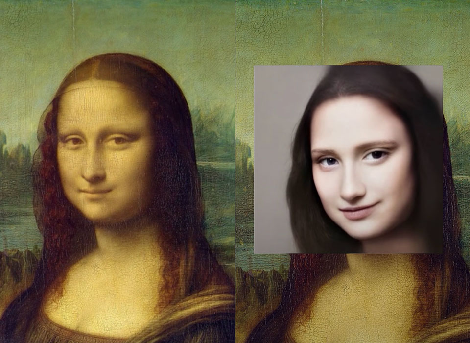 AI Famous Paintings Real Humans