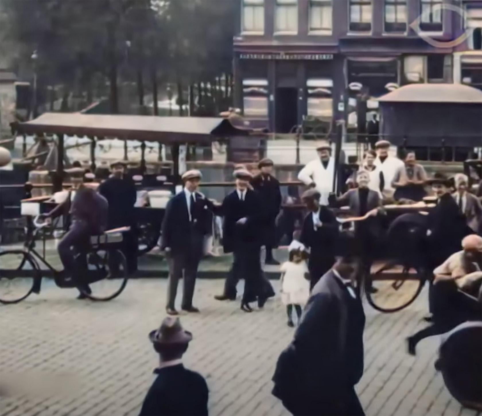 AI Neural Network Amsterdam 1920s