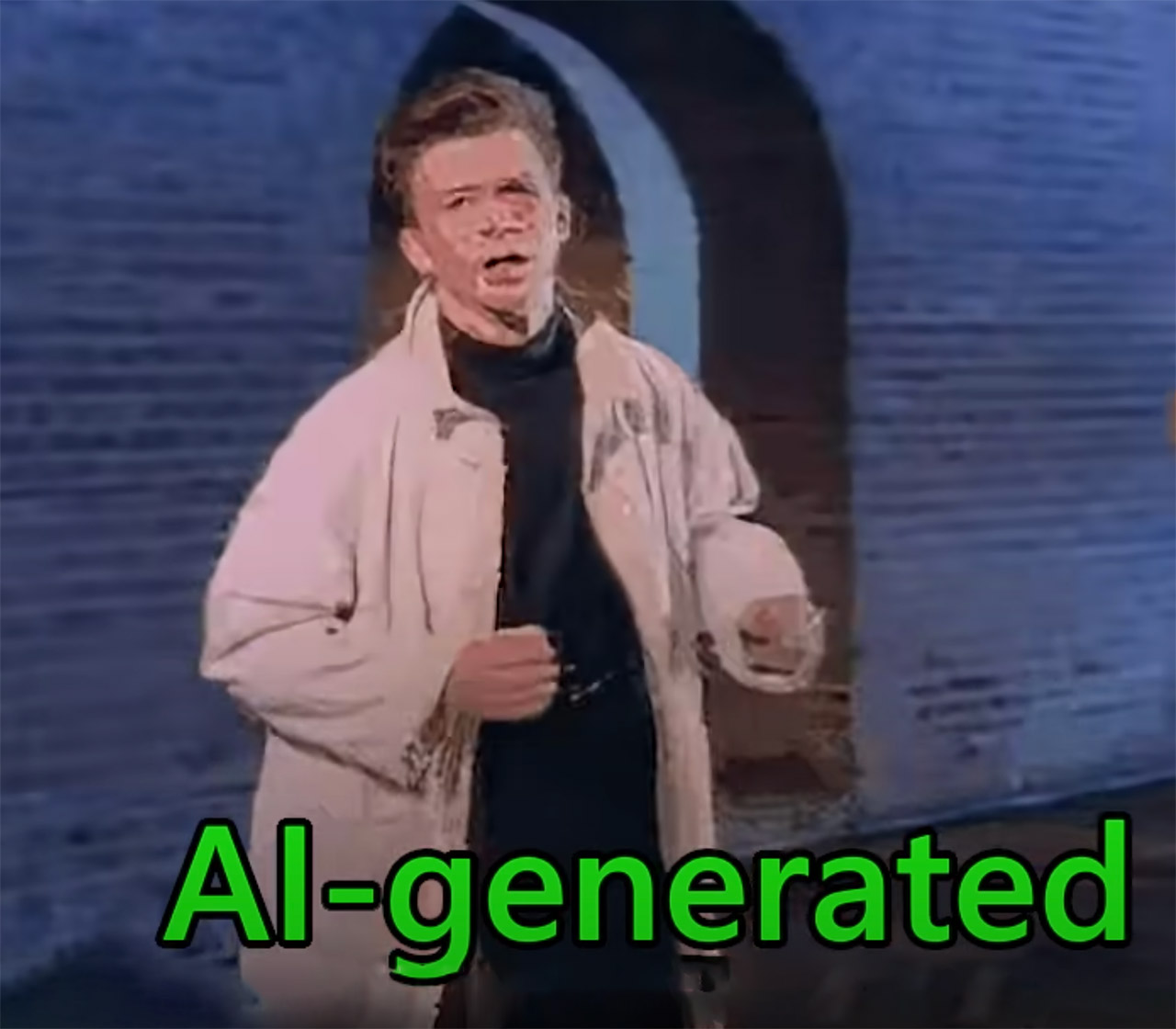 AI Never Gonna Give You Up