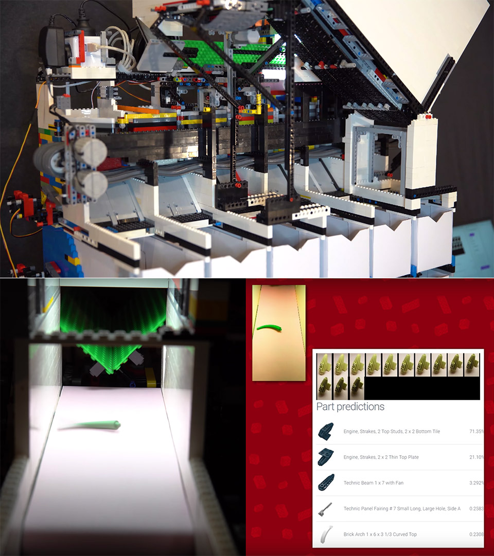 AI-Powered Universal LEGO Sorting Machine