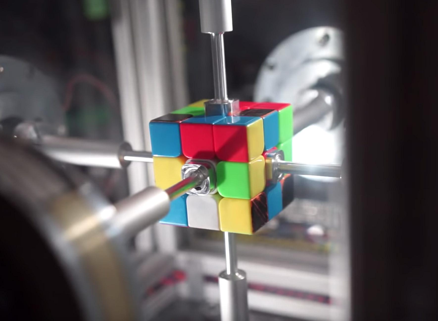AI Rubik's Cube System