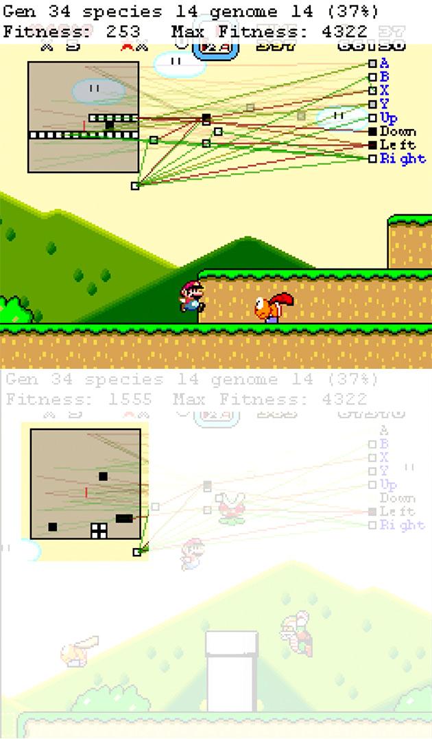 AI Super Mario World