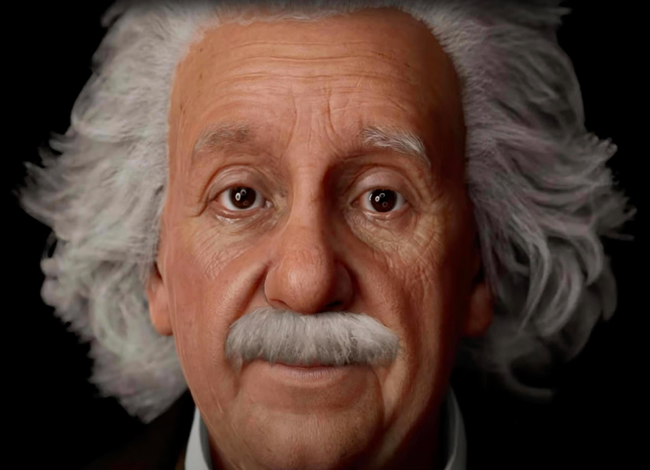 Artificial Intelligence Albert Einstein Chatbot
