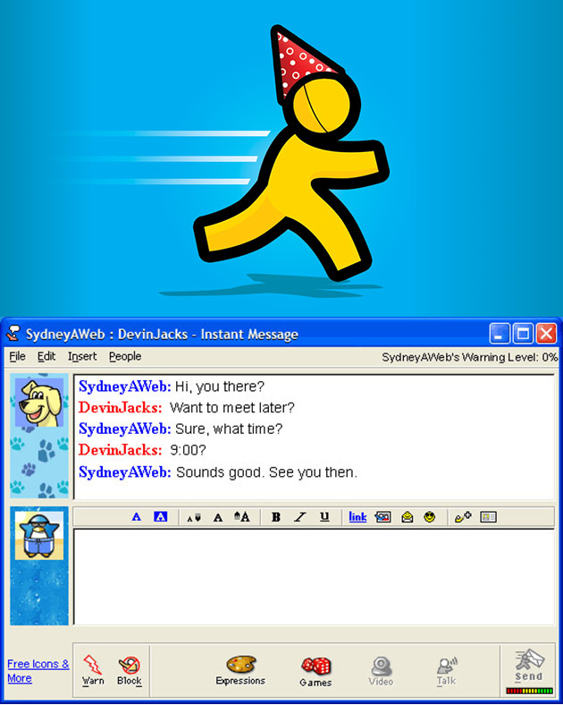 AIM AOL Instant Messenger