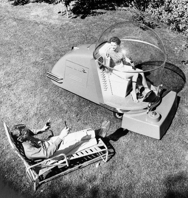 Air-Conditioned Lawn Mower