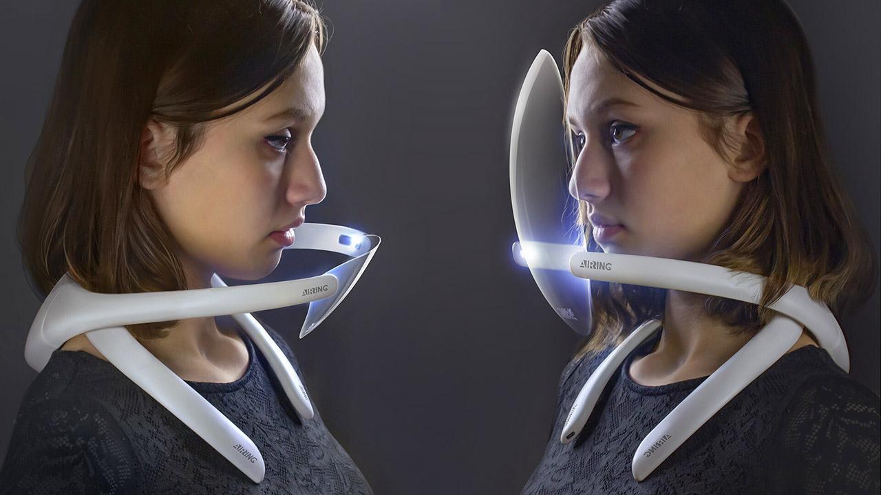 Air-Ring Wearable Air Purifier