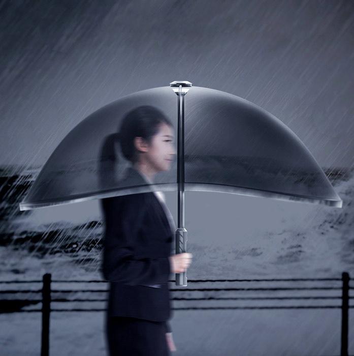 Air Shield Umbrella