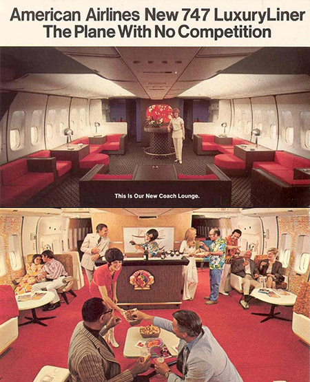 Air Travel 1970s