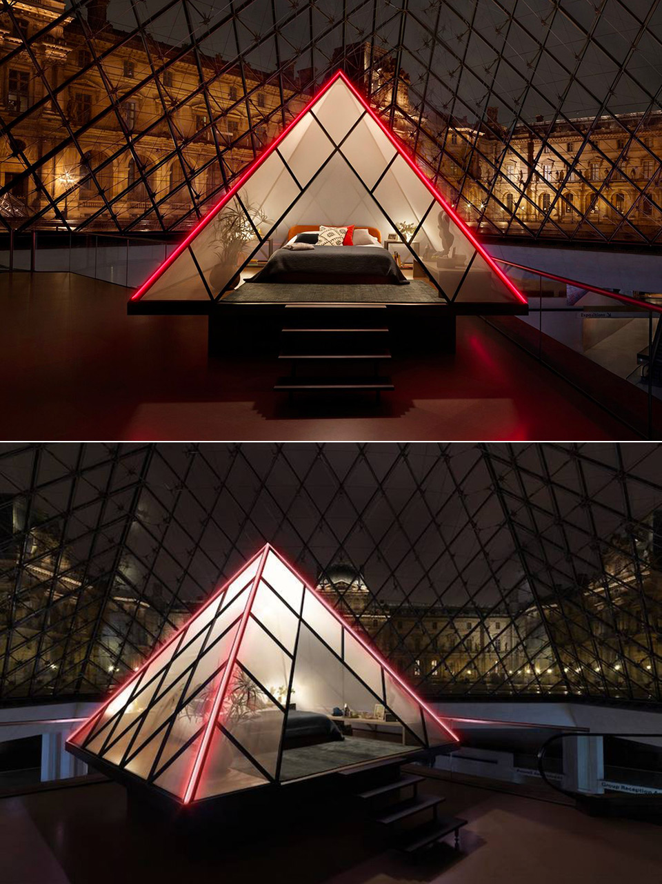 Airbnb Louvre Pyramid
