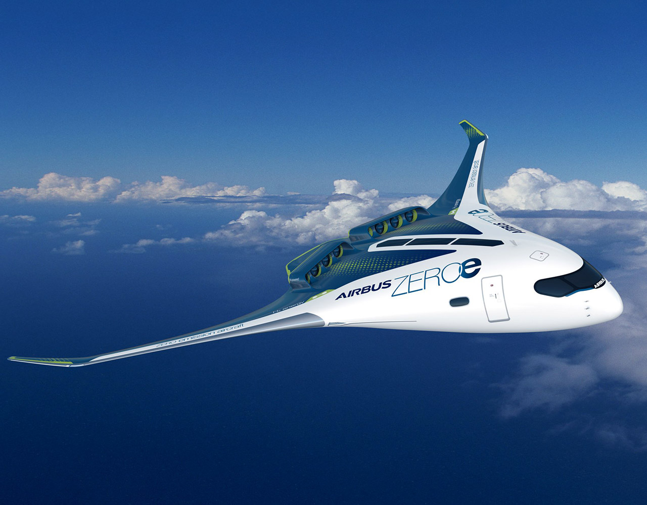 Airbus ZEROe Zero-Emissions Concept Aircraft