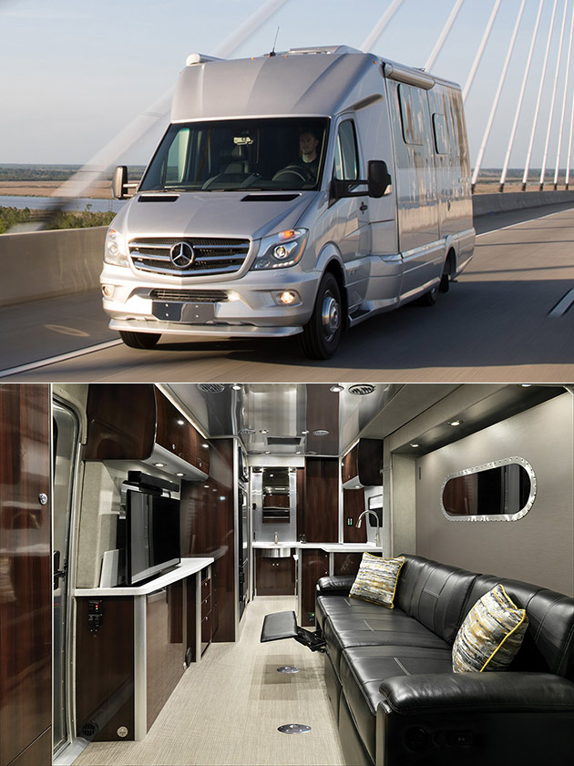 Forget Giant Rvs The Airstream Atlas Is A Mobile Luxury