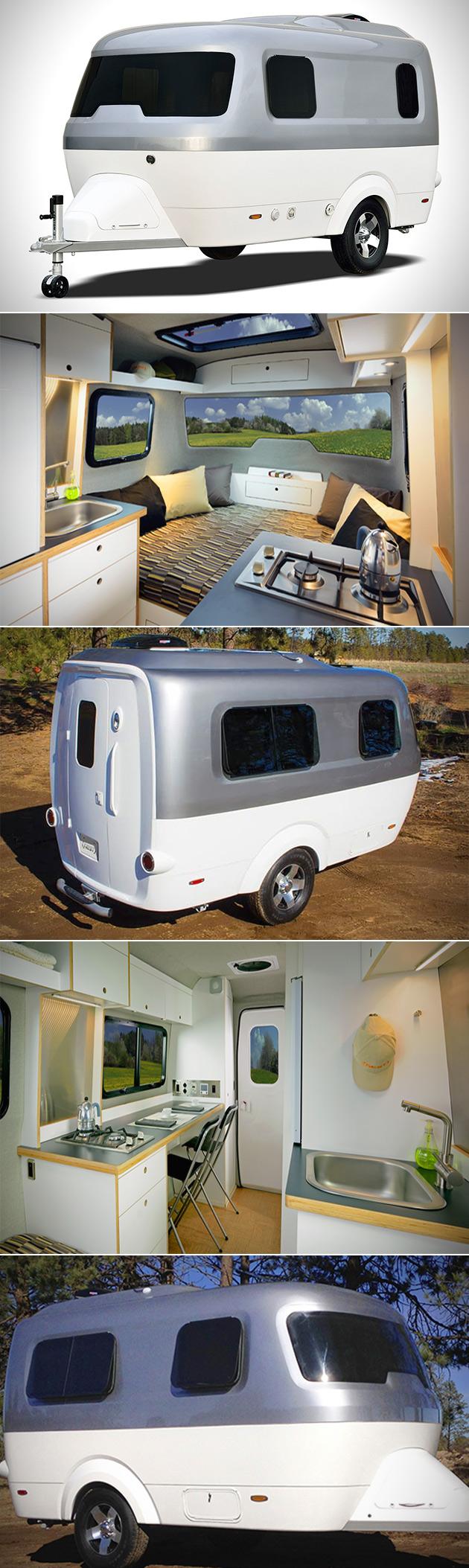 Airstream Nest Trailer Caravan