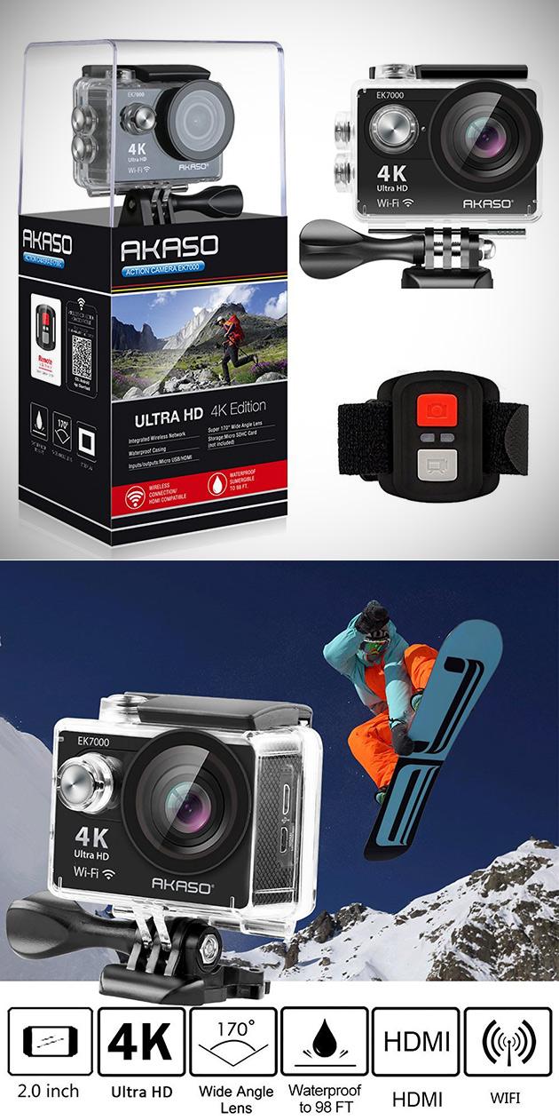 AKASO EK7000 4K Action Cam