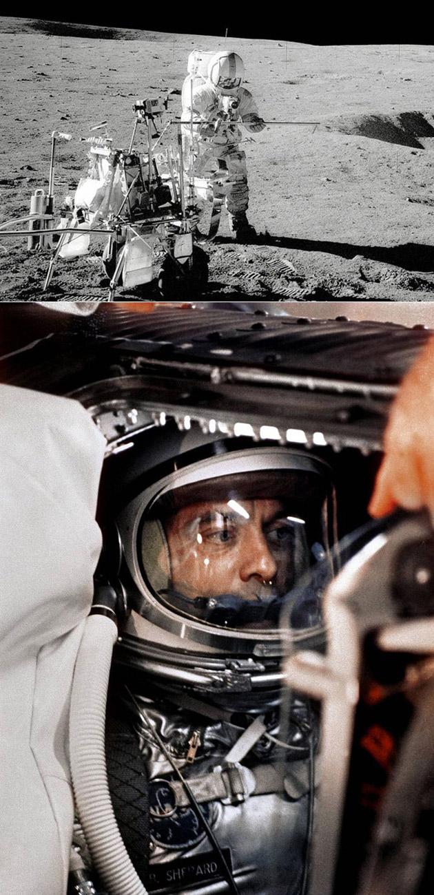 Alan Shepard Golfing Moon