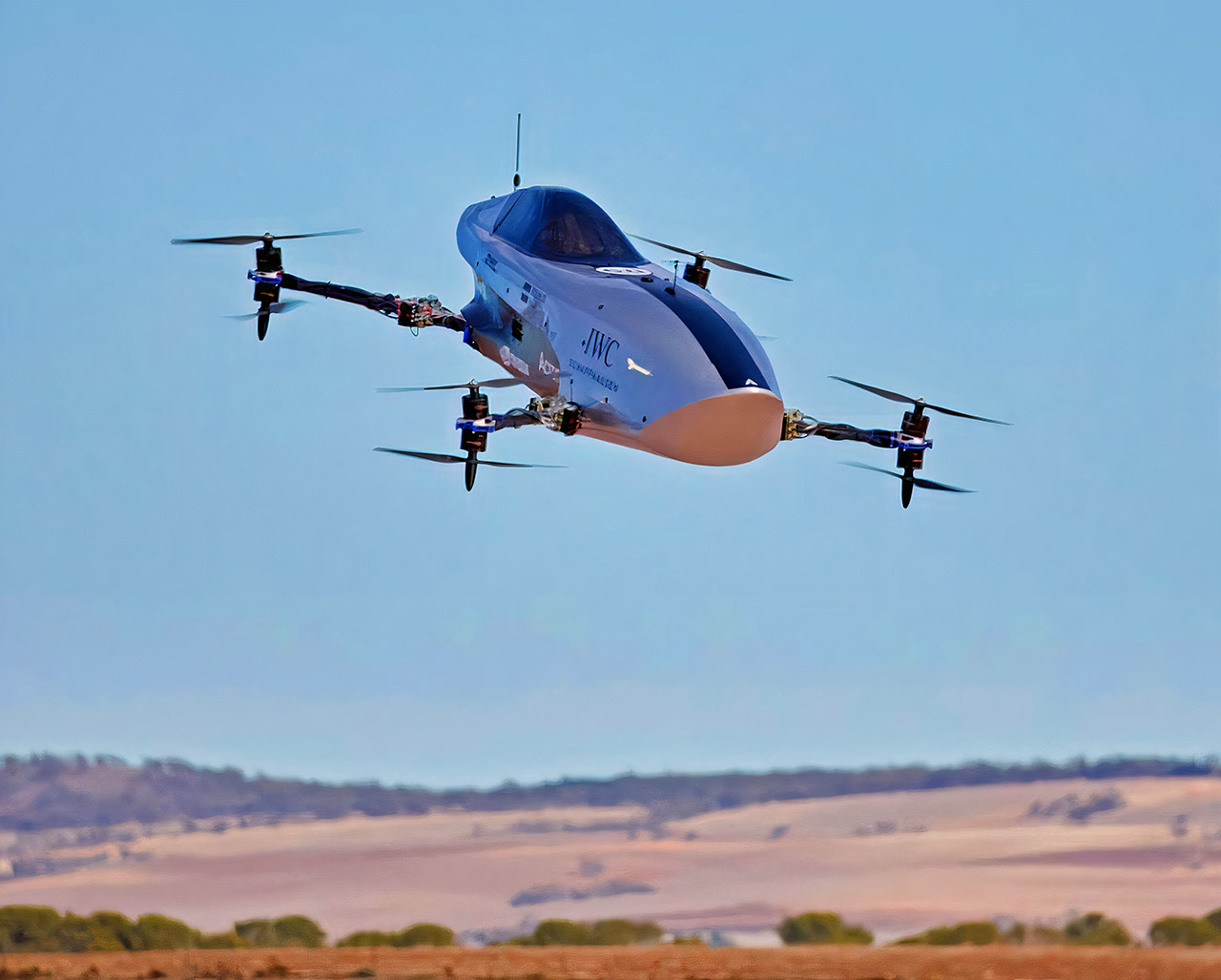 Alauda Airspeeder Mk3 Electric Flying Race Car