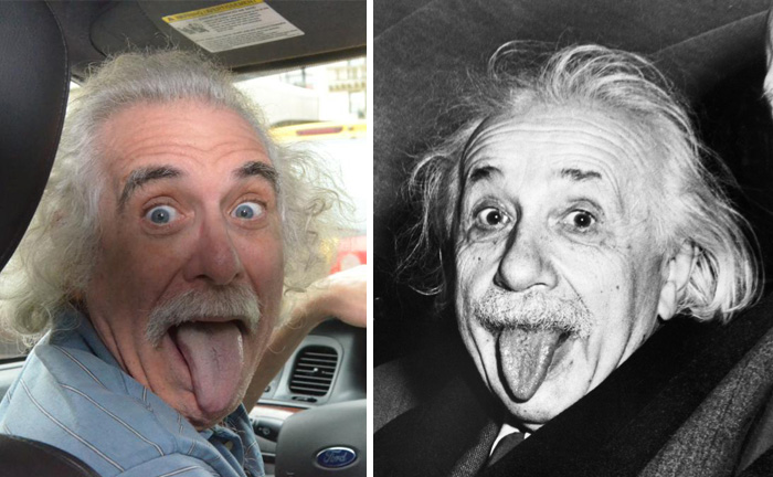 Albert Einstein Doppelganger