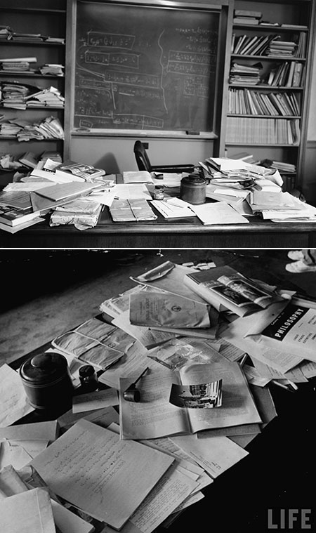 Albert Einstein Office After Death