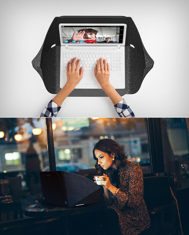 Alcove Laptop Privacy