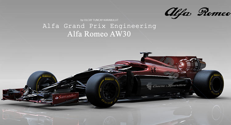 Alfa Romeo AW30 Has 1,000-Horsepower, Could be the Future of Formula