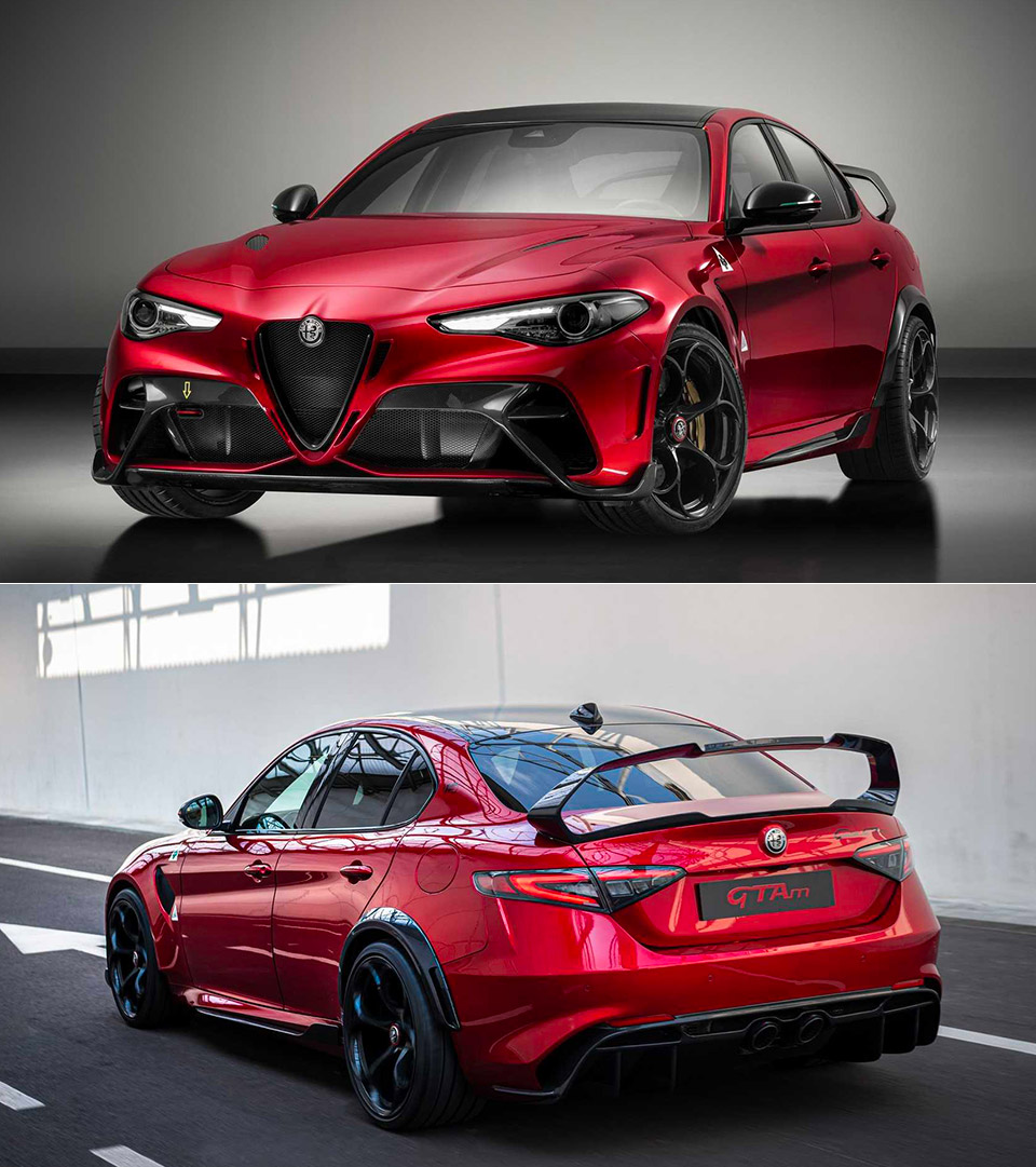 Alfa Romeo Giulia GTA / GTAm Debuts, Set To Take On BMW M3