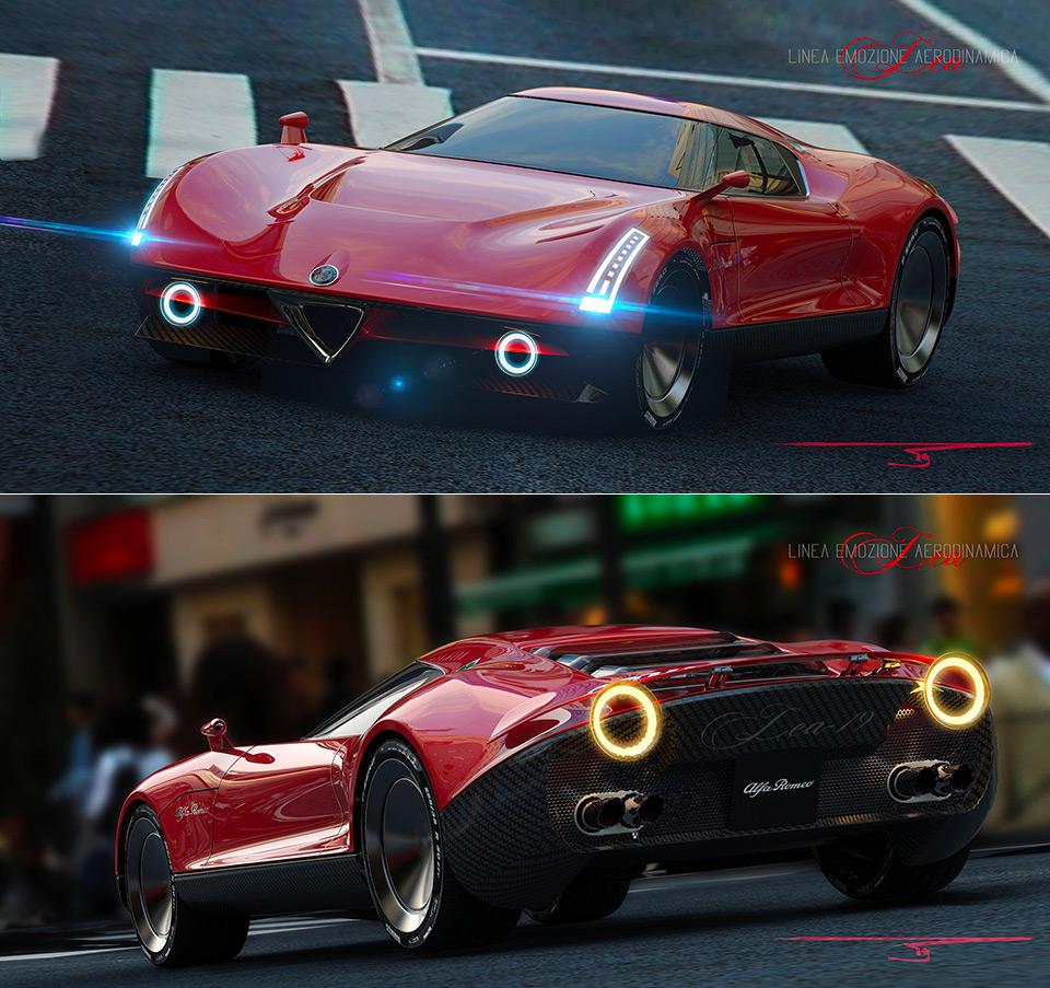 Alfa Romeo LEA Concept