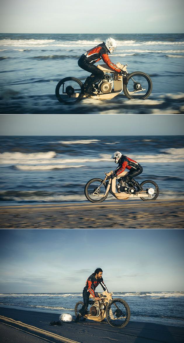 Algae Motorcycle