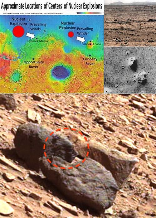 Alien Face Mars