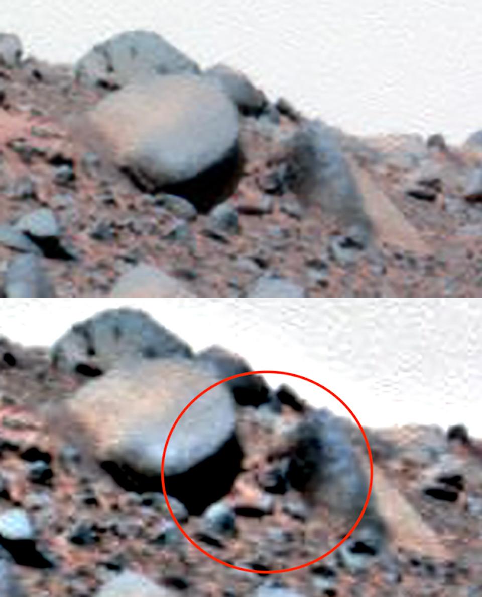 Alien Face On Mars