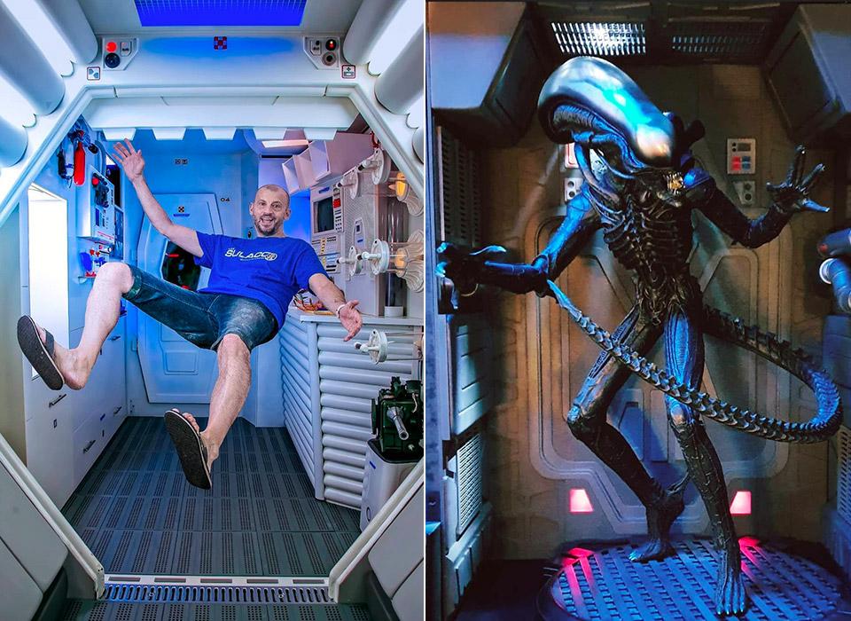 Alien Movie Spaceship Museum Apartment
