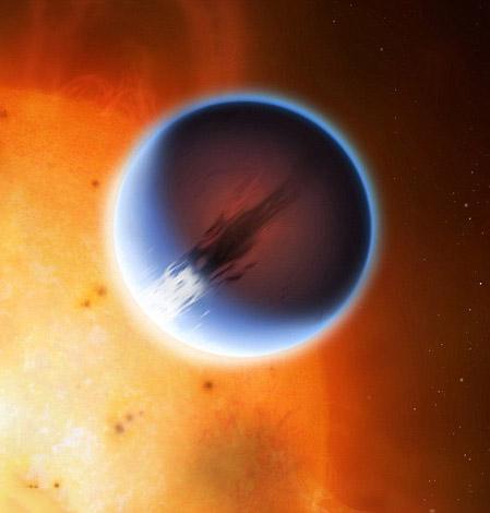 Alien Planet 5400MPH Winds