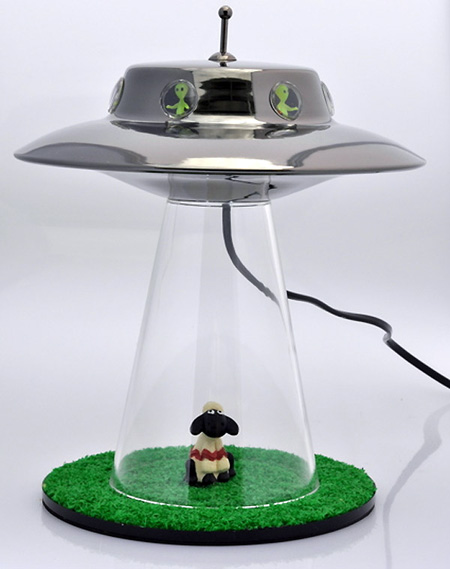 Alien Abduction Lamp Released