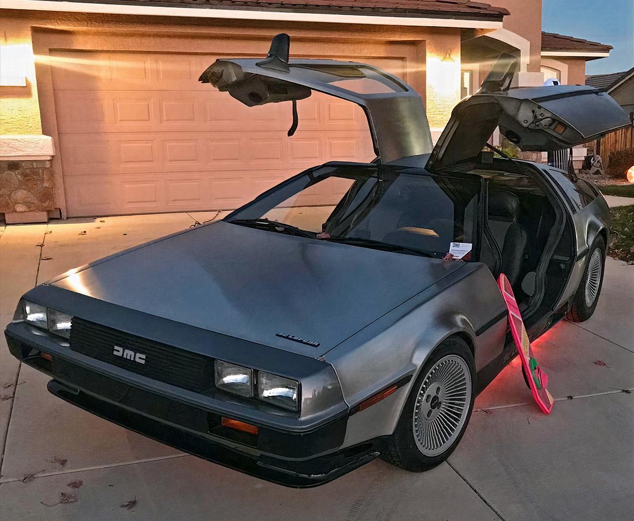 All-Electric DeLorean DMC-12