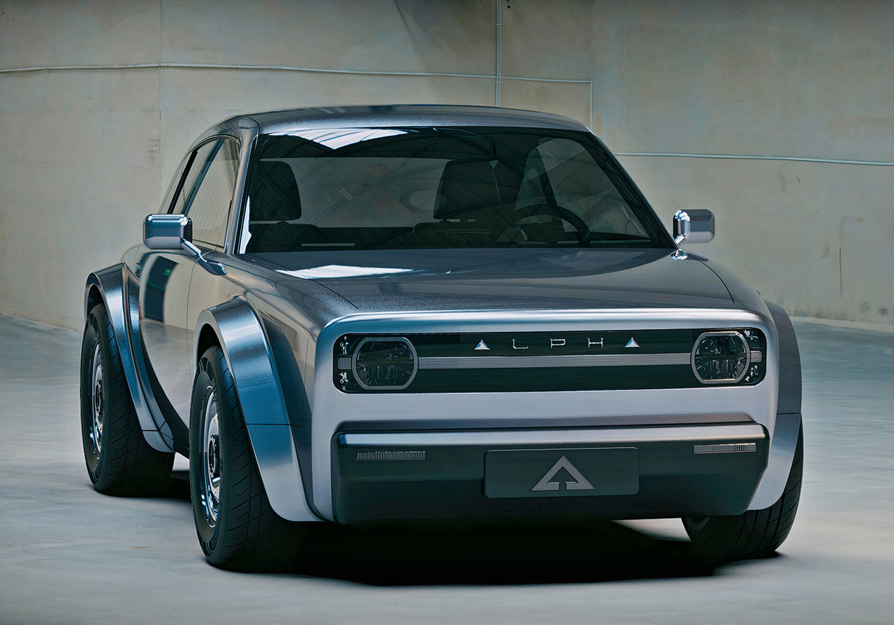 Alpha Ace Coupe EV Electric Car