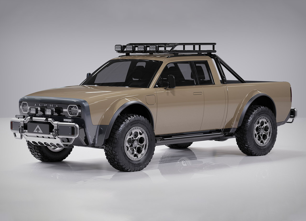 Alpha Wolf Plus Electric Pickup Truck