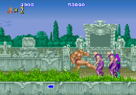 Altered Beast Game Over Altered Beast Game