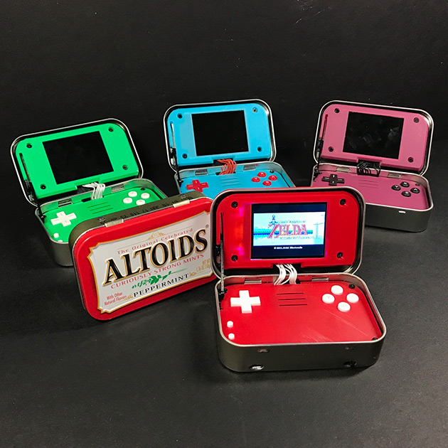 Altoids Tin Game Console