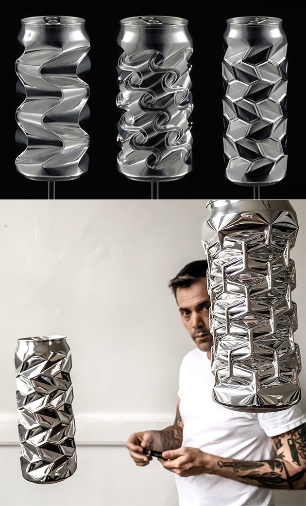 Aluminum Can Sculptures