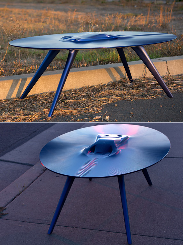 Aluminum Supercar Table