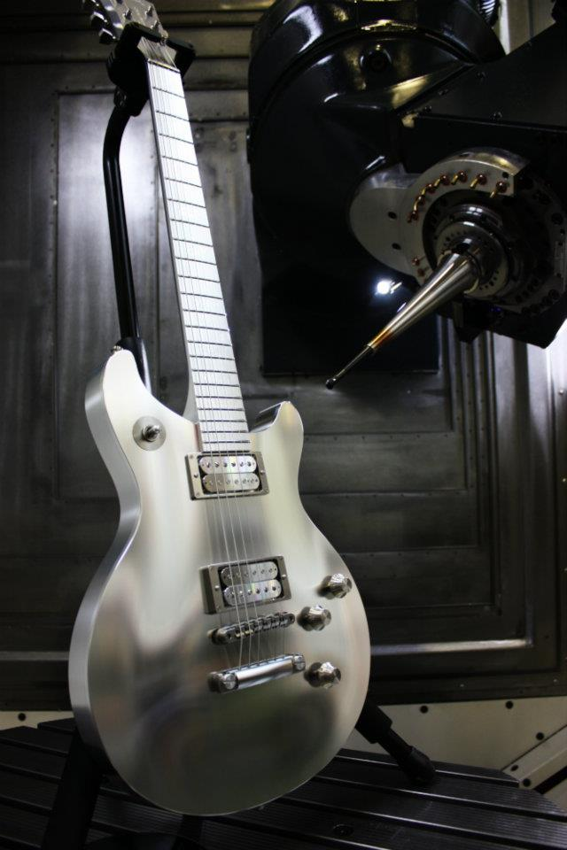 Aluminum Titanium Guitar