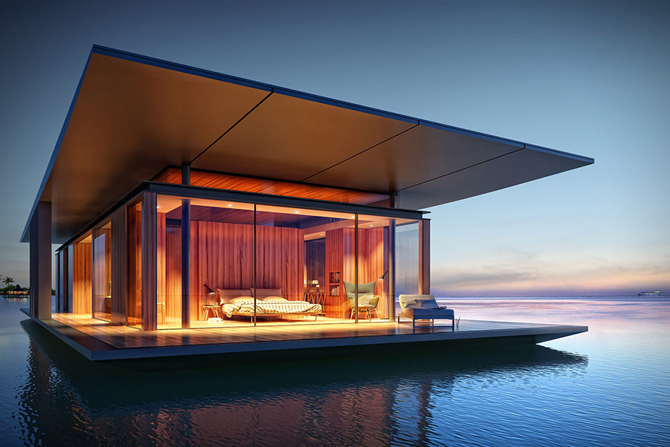 Floating Home Amazing