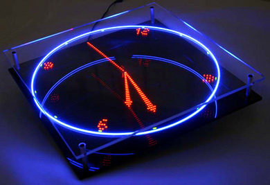Video Spinning Led Clock Techeblog