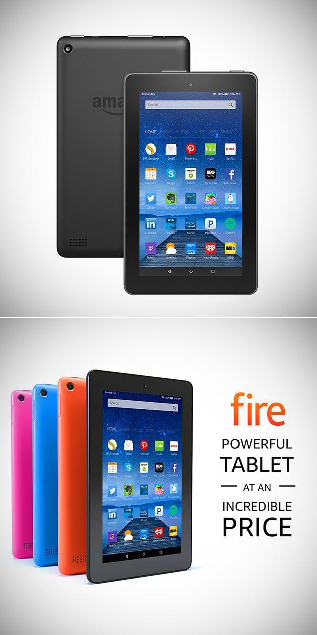 Sautez le Black Friday, Obtenir Amazon 8GB Quad-Core Feu de la Tablette, avec des Offres Spéciales pour de 33,33 $ - aujourd'Hui Seulement