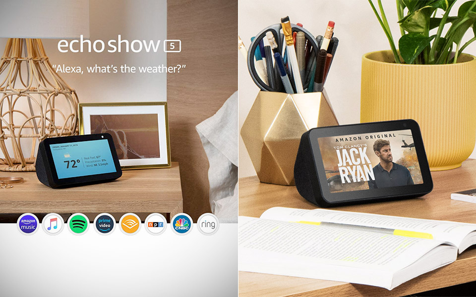 Amazon Echo Show 5 Smart Display
