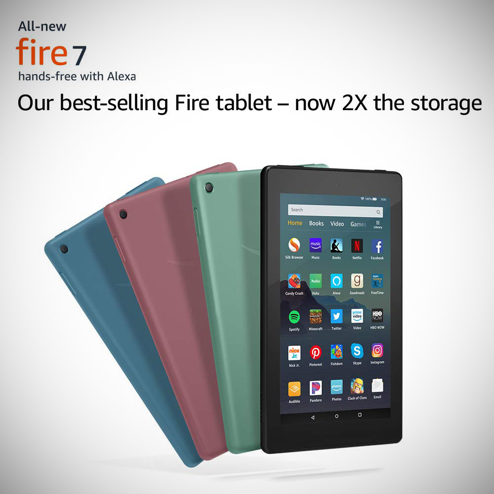 Amazon Fire 7 Tablet Hands-On